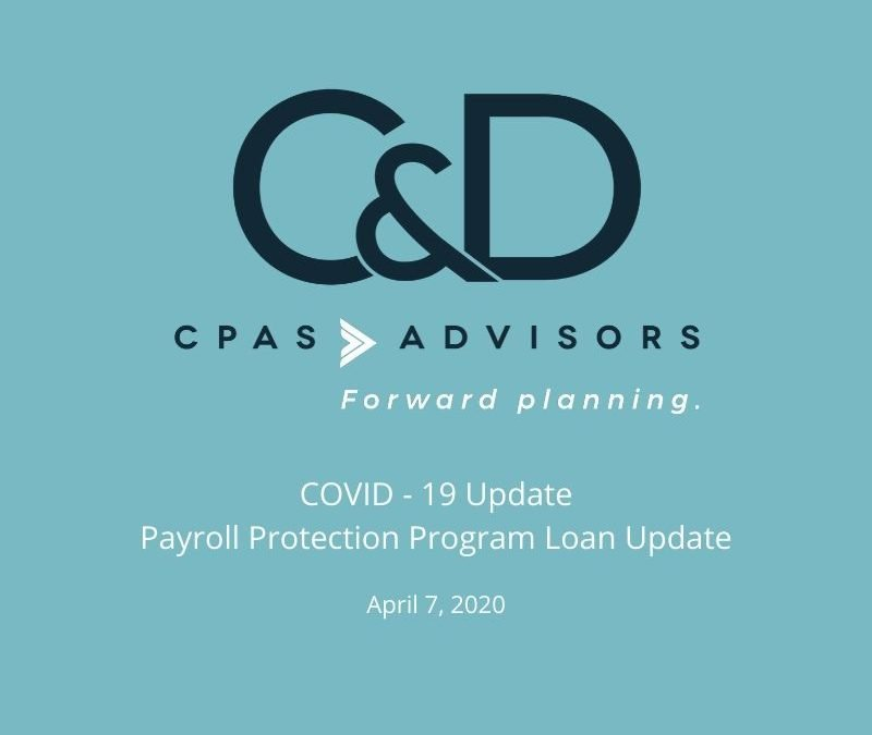 Payroll Protection Program Loan Update