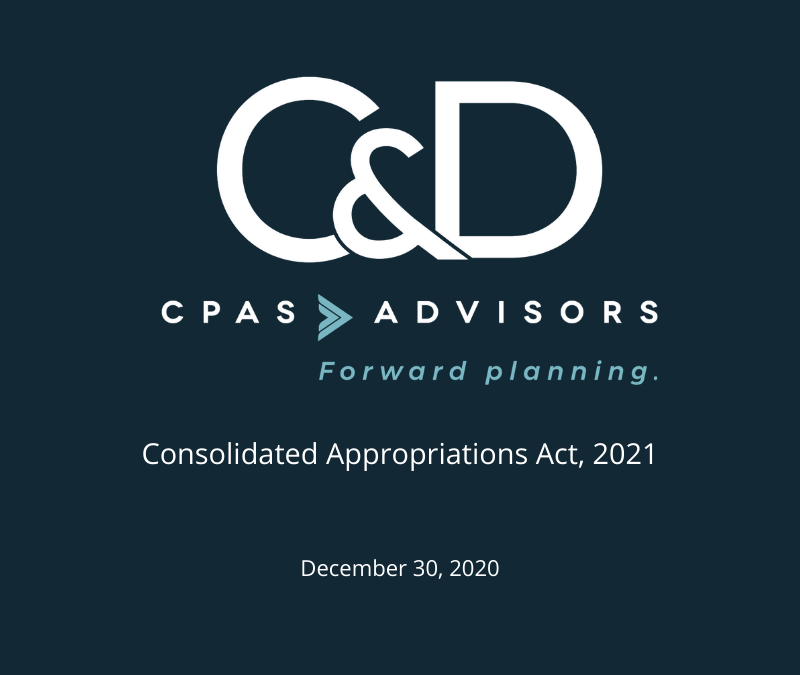 Consolidated Appropriations Act, 2021